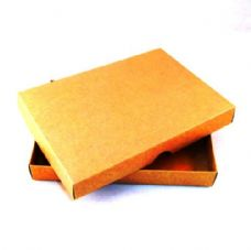 "5"" x 7"" Brown Kraft Invitation Boxes For Handmade Cards"